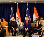 Modi, Trump meet for bilateral talks