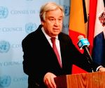 UN chief calls for attention to nuclear, cyberspace security