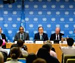 UN NEW YORK PRESS CONFERENCE BAN KI MOON