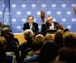 UN BAN KI MOON PRESS CONFERENCE