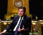 UN GENERAL ASSEMBLY 72ND SESSION PRESIDENT LAJCAK INTERVIEW