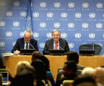 UN SECRETARY GENERAL ANTONIO GUTERRES PRESS CONFERENCE