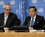 United Nations: Yukio Takasu's press conference