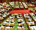Budget Session in UP cut short