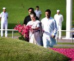 Rahul Gandhi, Sonia Gandhi pay floral tribute to Pandit Jawaharlal Nehru