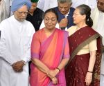 Meira Kumar files nomination for Presidential elections