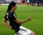Solskjaer hails Cavani, de Gea after United's win against Roma