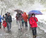 Snow in Urumqi