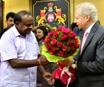 US Ambassador Kenneth Juster meets Karnataka CM Kumaraswamy