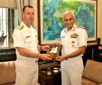 US Navy chief meets Sunil Lanba