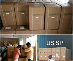 USISP donates 400 oxygen concentrators to Andhra