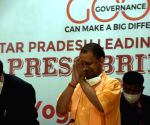 Yogi Adityanath's press briefing