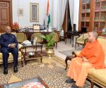 UP CM Yogi meets President Kovind