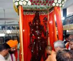 Ayodhya (UP): Yogi unveils statue of Lord Ram in Ayodhya
