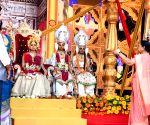 Yogi Adityanath during 'Deepotsav