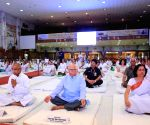 International Day of Yoga - Rajnath Singh, Ram Naik