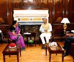 Uttarakhand CM meets Nirmala Sitharaman