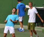 Davis Cup - Uzbekistan - Practice Session
