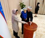 Uzbek prez polls record historic turnout
