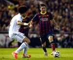 Spanish King's Cup final between FC Barcelona and Real Madrid