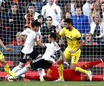 Spanish Liga Primera Division - Valencia CF v/s Villarreal