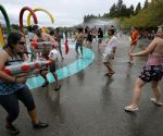 CANADA VANCOUVER WATER FIGHT