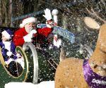 Canada vancouver santa Claus Parade