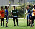 CANADA VANCOUVER FIFA WOMEN'S WORLD CUP REFEREES TRAINING