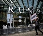 CANADA VANCOUVER TRUMP TOWER OPENING PROTEST