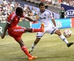 San Jose Earthquakes v/s Vancouver Whitecaps during MLS soccer match