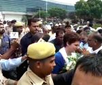 Priyanka meets victims of Sonebhadra violence