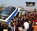 Vande Bharat Express runs over cattle, halted in UP