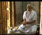 Gold crown offered to Varanasi temple on PM Modi's birthday