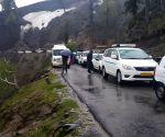 Gulaba (Himachal Pradesh): Landslide near Manali