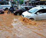 Waterlogged streets of Guwahati
