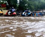 Rains leave city streets water-logged