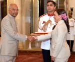 Venezuela Ambassador-designate presents credentials to President Kovind