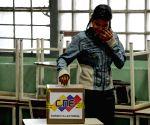 Venezuela holds election drill ahead of legislative polls
