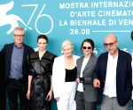 ITALY VENICE FILM FESTIVAL JURY MEMBERS PHOTOCALL