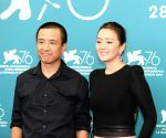 "ITALY-VENICE-FILM FESTIVAL-CHINESE FILM ""SATURDAY FICTION""-CAST MEMBERS"