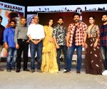 Venky Mama Group Photos From Pre Release Event in Khammam