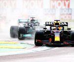 F1: Verstappen wins turbulent Emilia Romagna GP