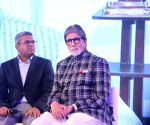 "Amitabh Bachchan at ""Mission Paani"" launch"