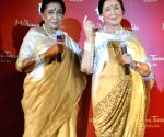 Asha Bhosle's wax statue unveiled at Madame Tussauds museum