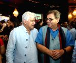 """Inauguration of  """"Frames 75"""" exhibition - Javed Akhtar and Subhash Ghai"""