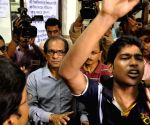 TMCP demonstration against Vice Chancellor of Calcutta University