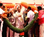 Venkaiah Naidu felicitated in Karnataka