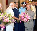 President Mukherjee leaves for Nepal