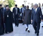 Yerevan (Armenia): Hamid Ansari visits Mother See of Holy Etchmiadzin