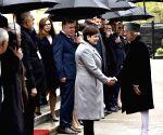 Hamid Ansari meets Poland PM Beata Szydlo